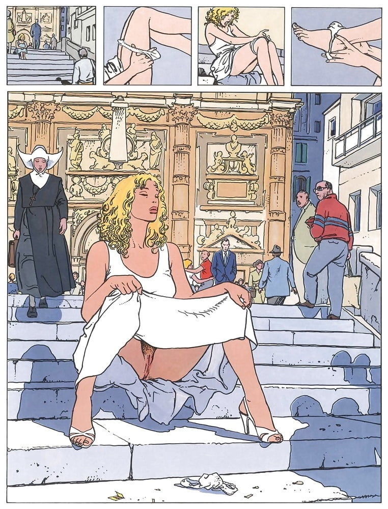 erotic cartoon milo manara