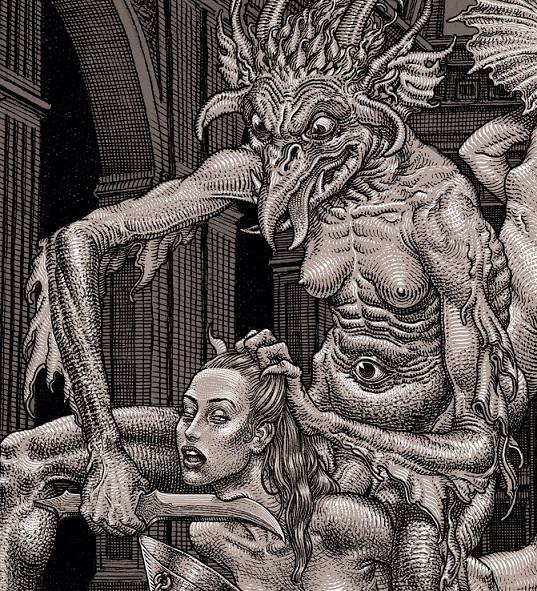 erotic dark art Kerb Crawler