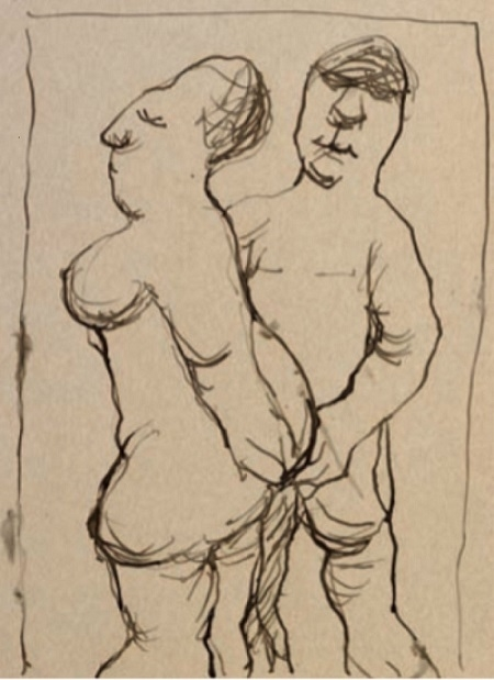 erotic drawing vasko lipovac
