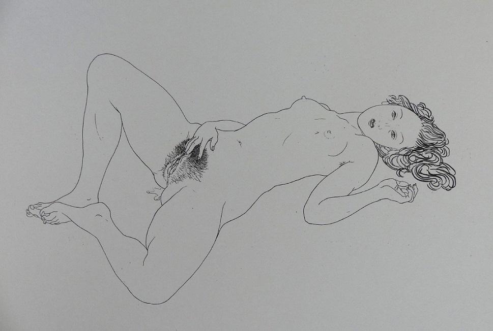 Mario Tauzin masturbating girl