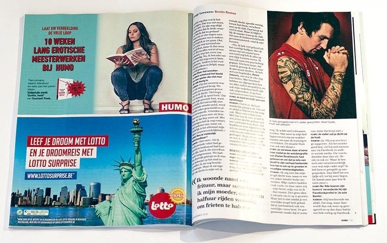 erotic Humo magazine marketing
