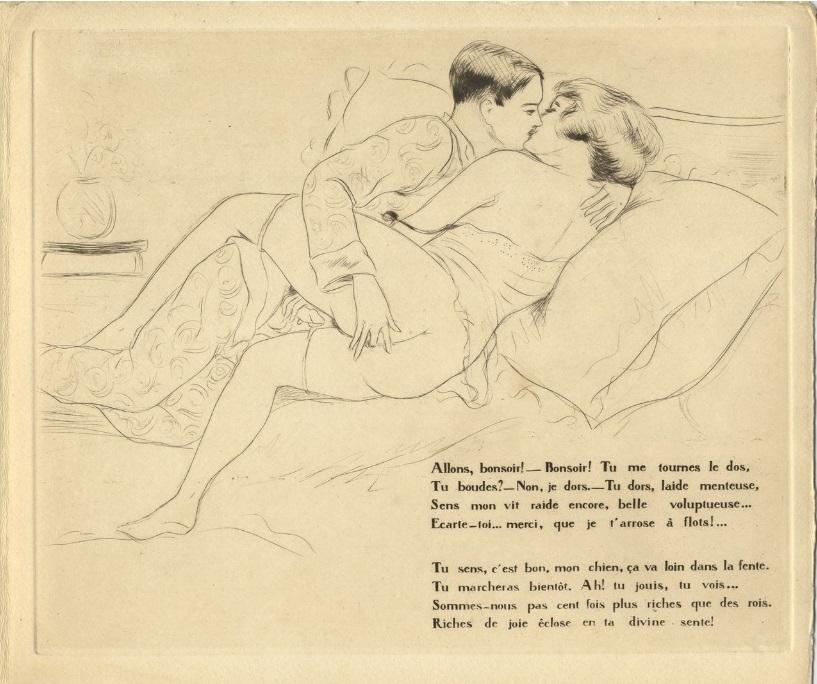 erotic illustrator Léon Courboulei