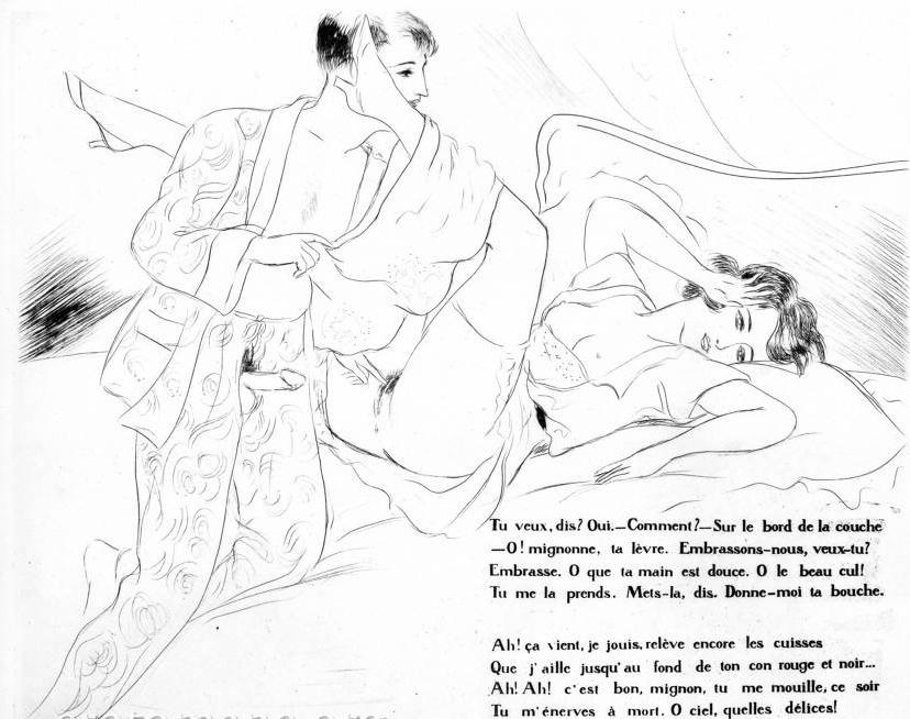 erotic Léon Courboulei