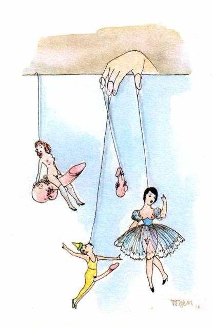 erotic puppets Toyen