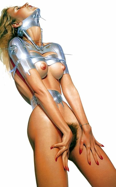 erotic robot sorayama hajime