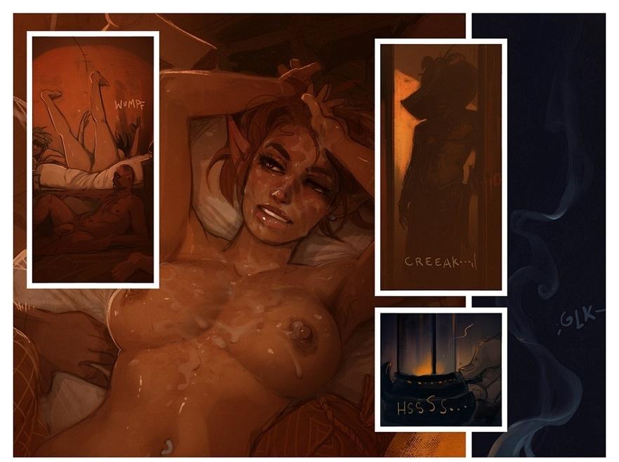 erotic scenes with Cinderella