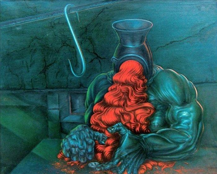 erotic surrealism Sibylle Ruppert