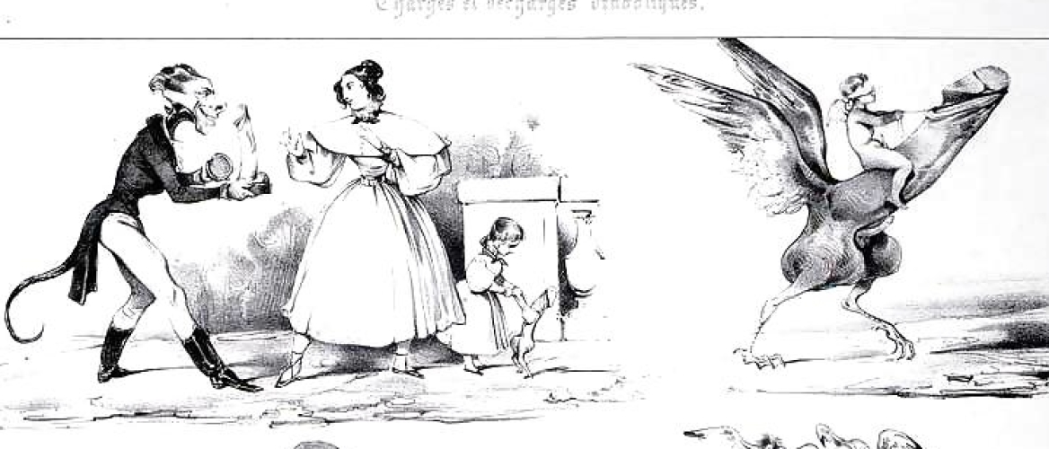 Playful Sabbat of Little Devils by Eugène Lepoittevin or Achille Devéria