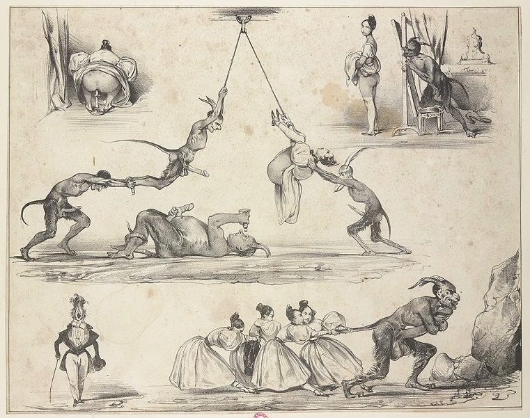 Eugène Lepoittevin lithograph