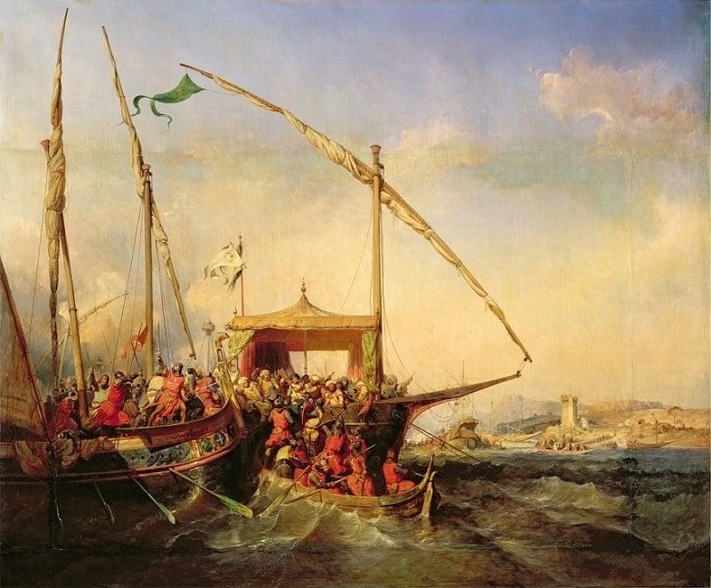 Eugène Lepoittevin naval battle