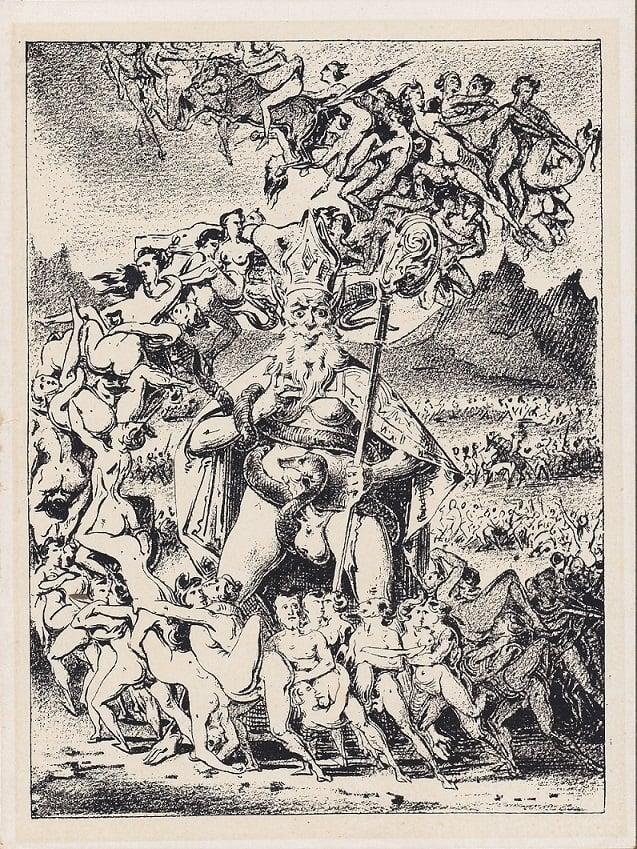 Eugène Lepoittevin Satan