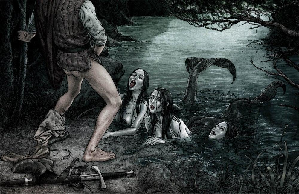 feeding the mermaids kerb crawler