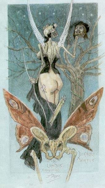 felicien rops pictures sentimental initiation