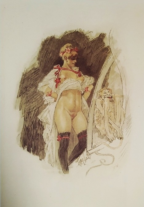felicien rops pictures: Impudence