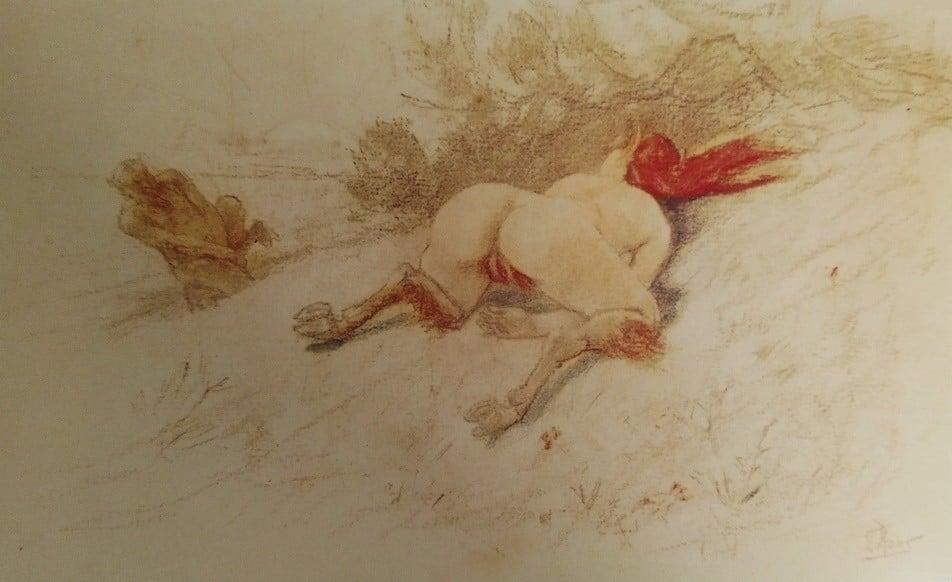 felicien rops pictures 'Centaura'
