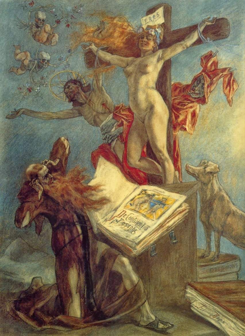 felicien rops pictures st anthony's temptation