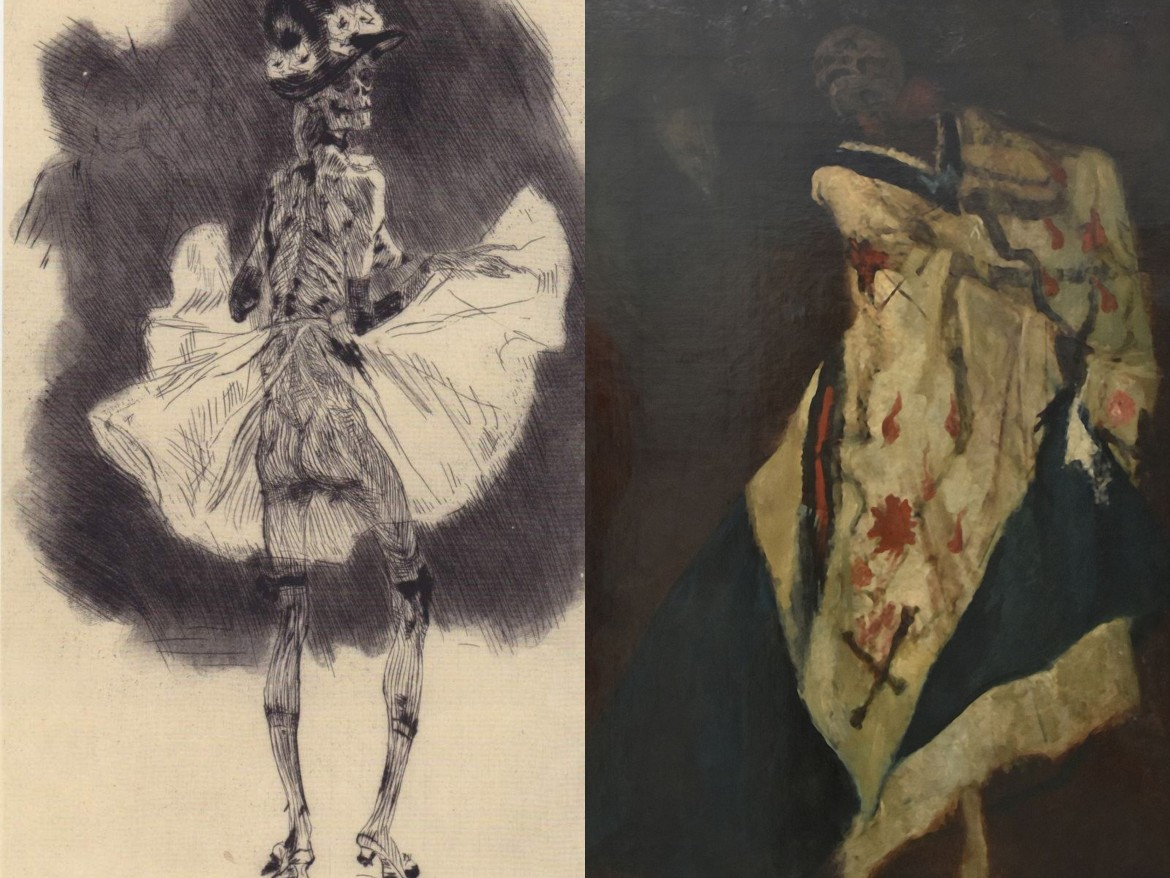 felicien rops pictures Dance of Death and The death at the Ball