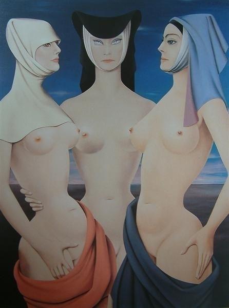 felix labisse entrance of the wise virgins