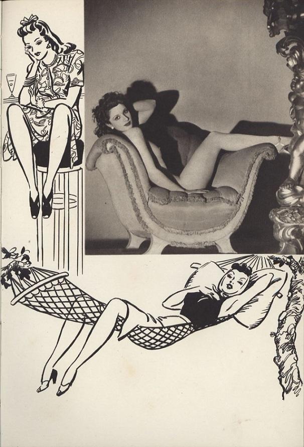Ferrier/Roye, Lovelies illustrator
