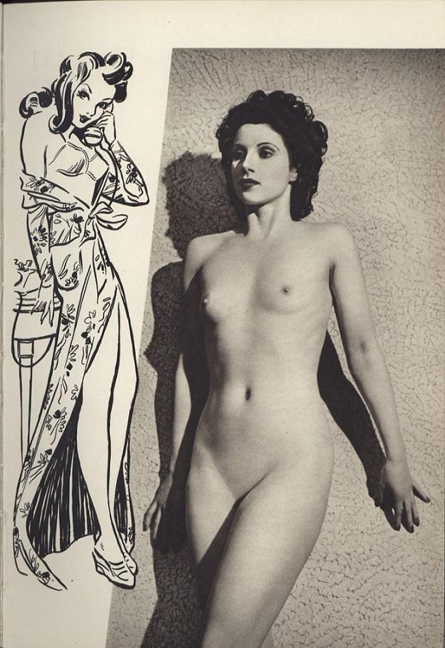 Ferrier/Roye, nude female