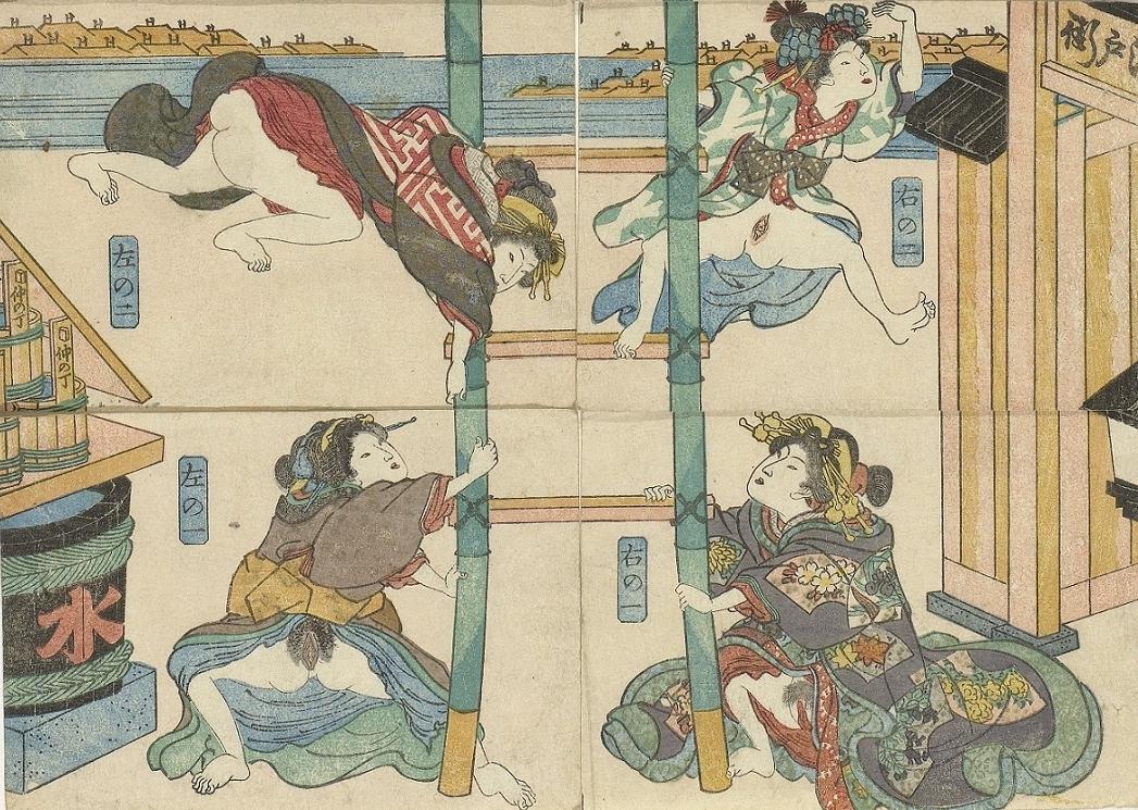 firemen ukiyo-e Kuniyoshi