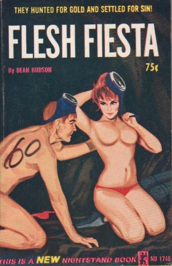 Flesh Fiesta Pulp Novel Cover