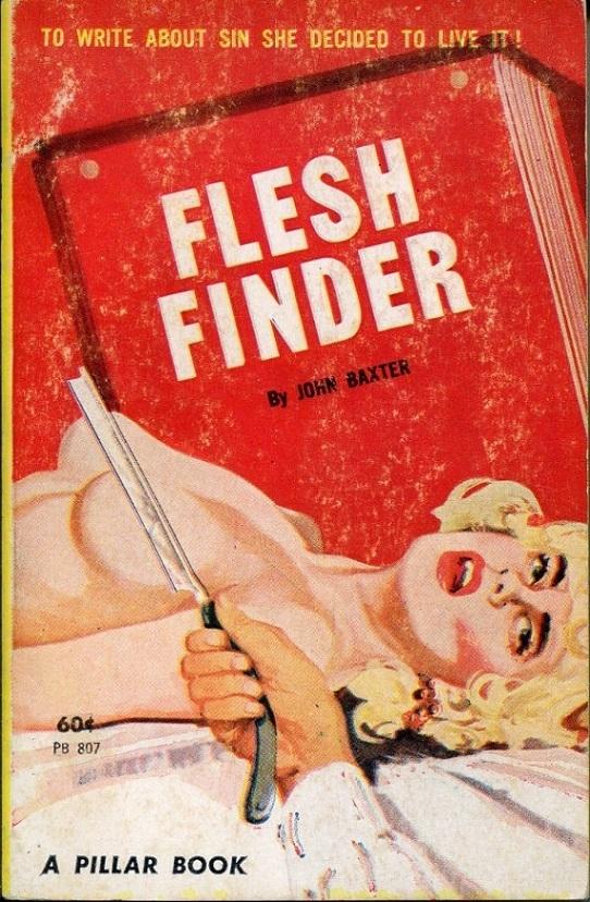 Flesh Finder adult book cover