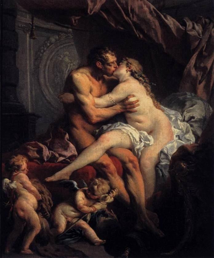 François Boucher Hercules and Omphale