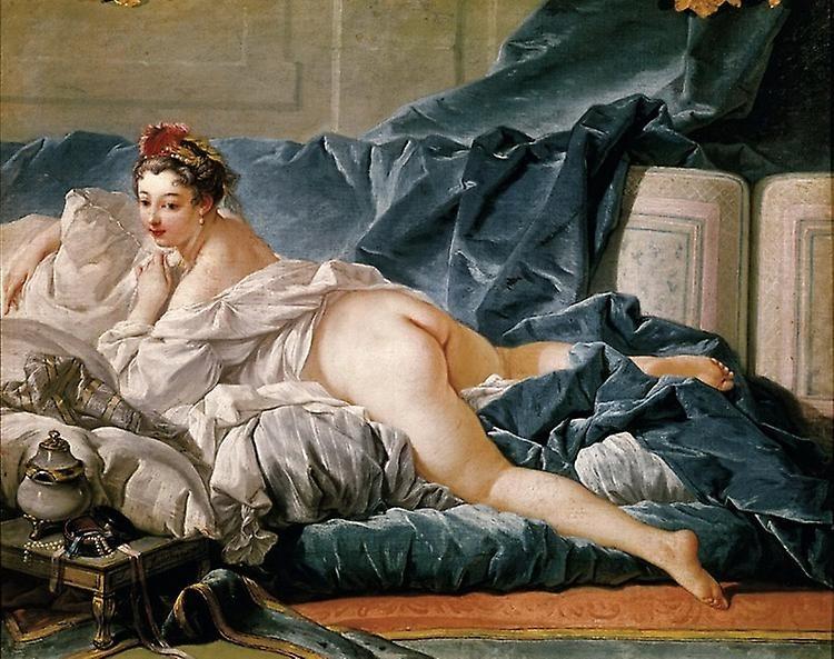 François Boucher: Odalisque