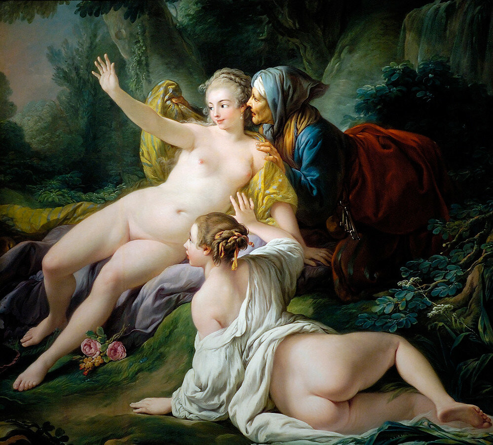 Vertumnus and Pomona by François Boucher