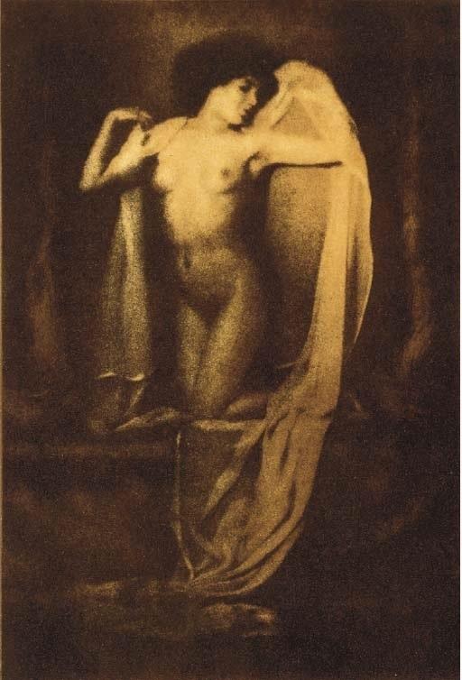 František Drtikol draped nude