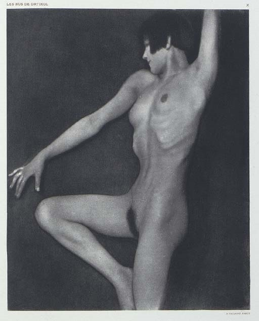 František Drtikol female nude