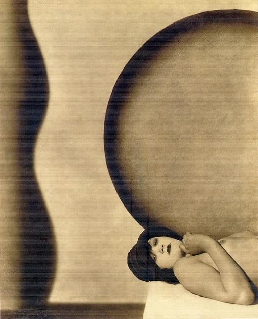 František Drtikol lying nude