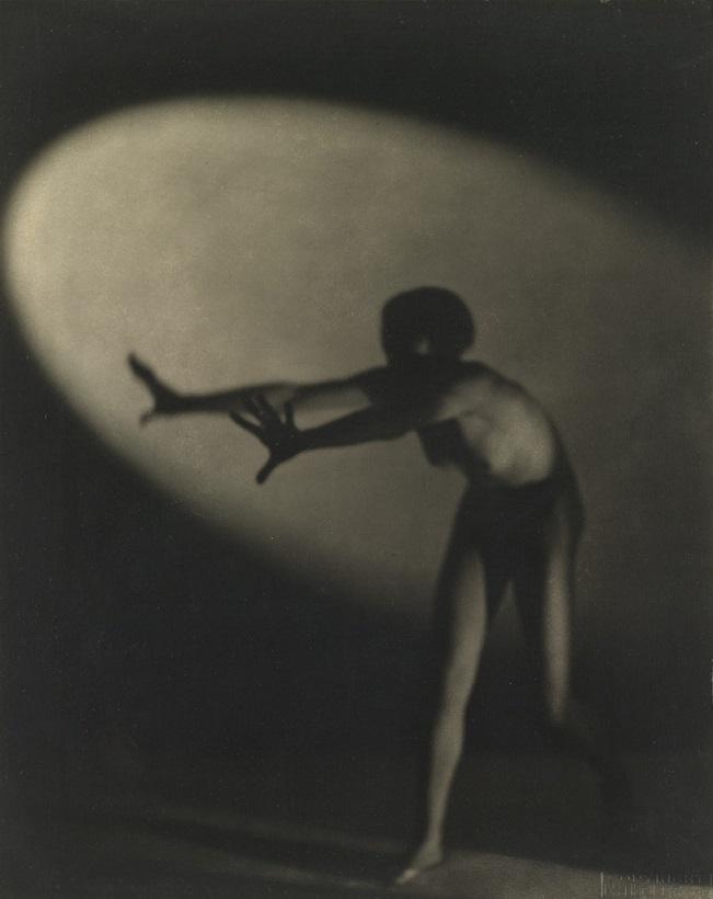 František Drtikol woman in light