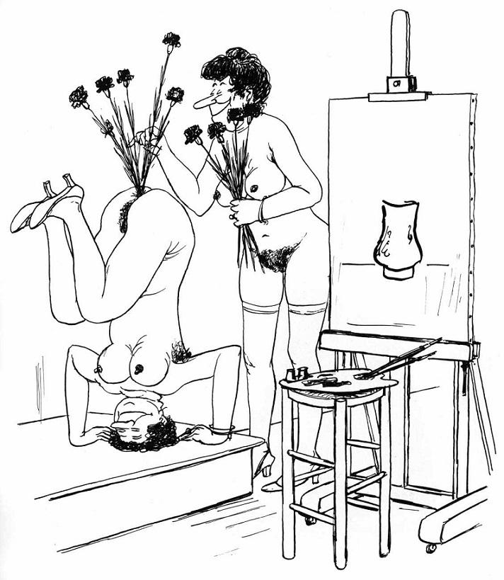 French cartoonist Roger Testu