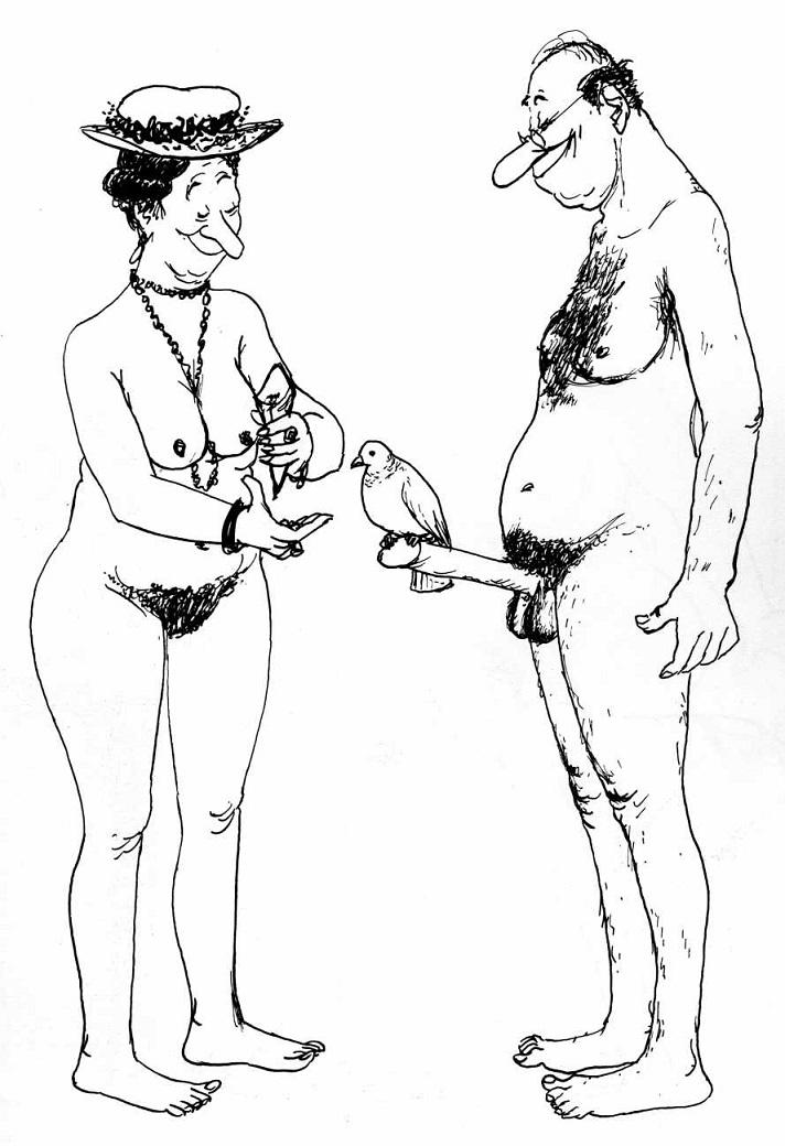 French cartoonist Roger Testu Tetsu