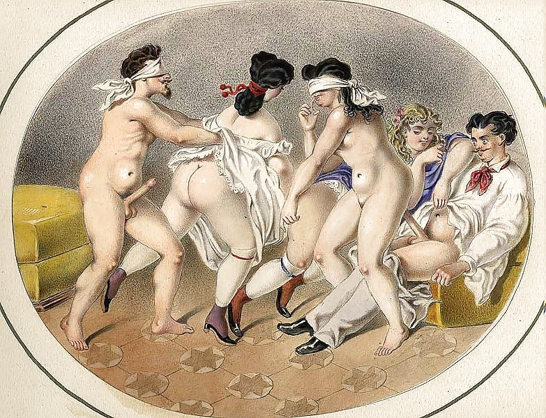 French erotic painting sex game