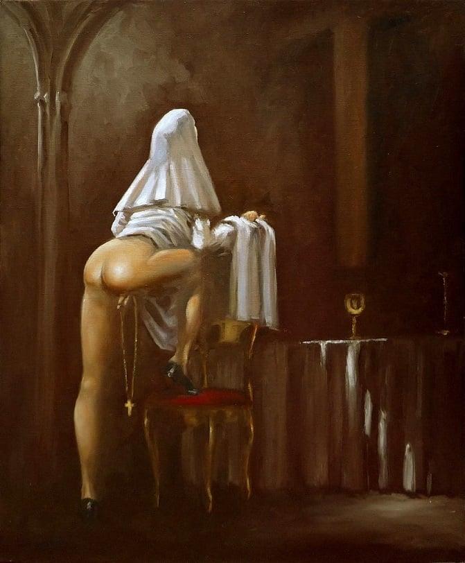 Galan Eyacule nun