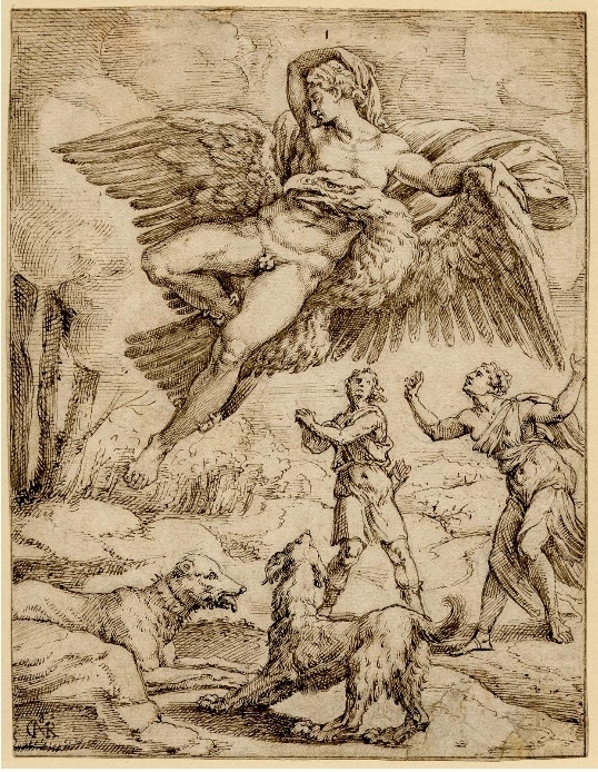 Ganymede's abduction