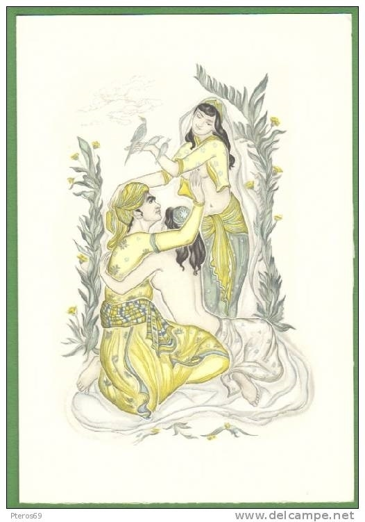 Genia Minache erotic illustration