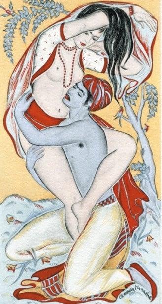 Genia Minache Kama Sutra illustration