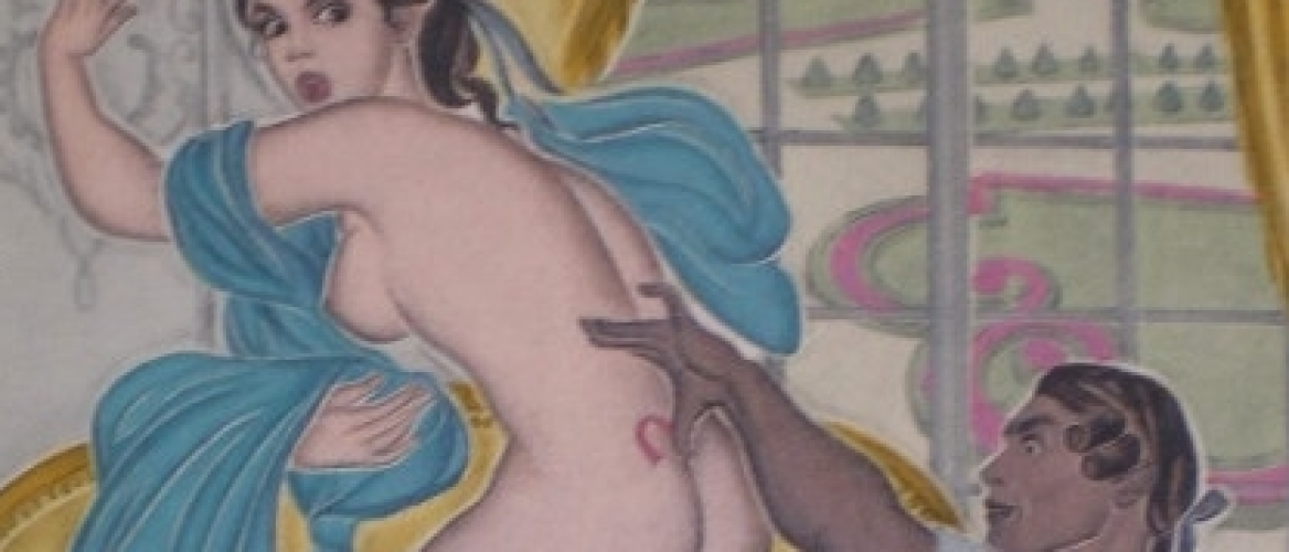 Erotic Illustrations of Classic Literature by the Russian Painter Genia Minache