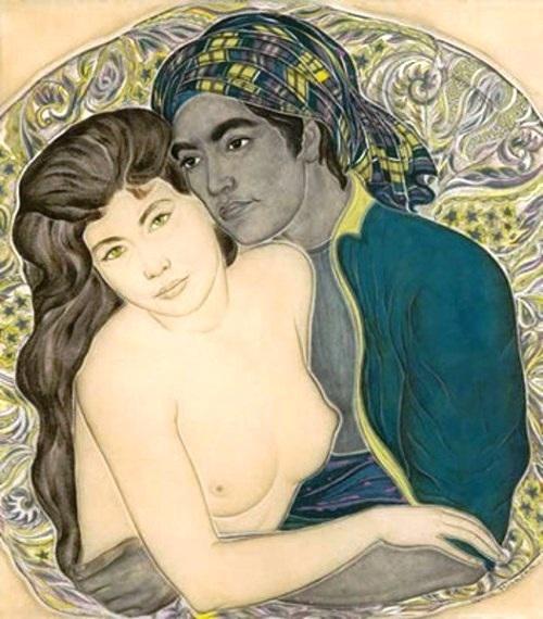 Genia Minache the couple