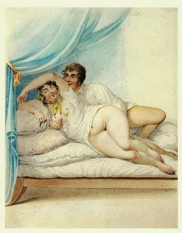 Georg Opiz intimate couple looking at the viewer