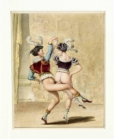 Georg Opiz, the dancing pair