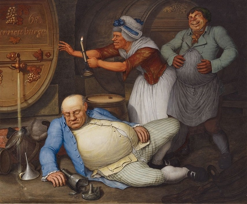 Georg Opiz, The Drunkard