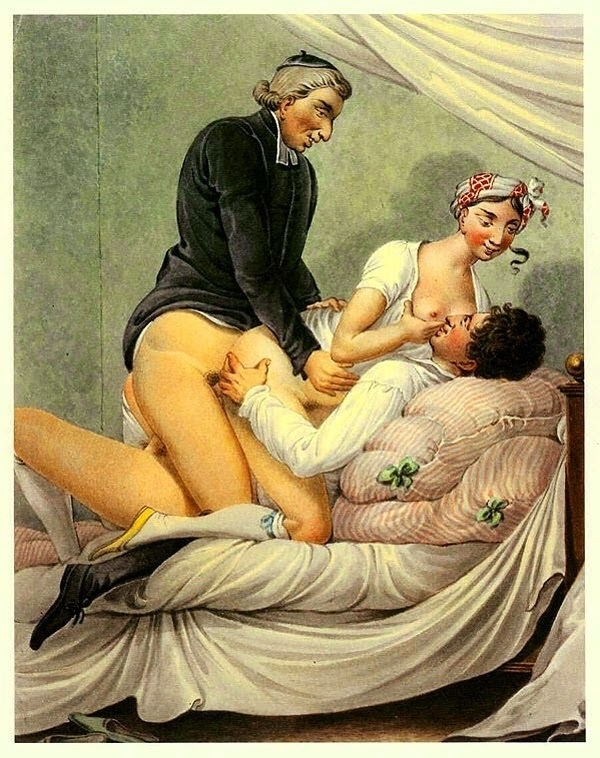 Georg Opiz threesome with a vicar