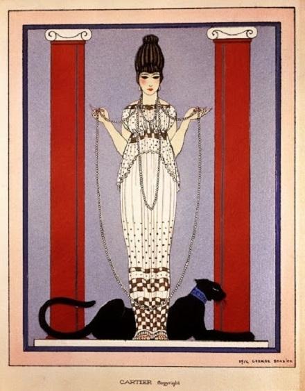 George Barbier design for Cartier