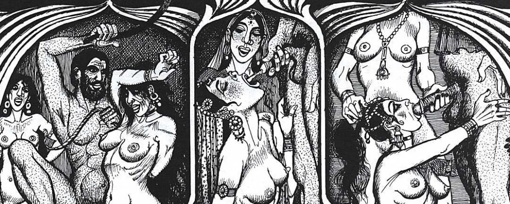 Georges Pichard's Illustrations For Kama Sutra in Two Volumes, Part One