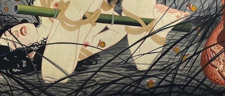 Gerald Feliciano Presents an Enchanting Mix of Art Nouveau and Shibari
